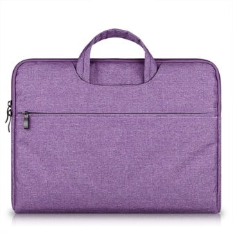 RAINYEAR Protective Resistant Nylon Handbag Carrying Case Padded Foam for Macbook/Laptop/Ultrabook/Chromebook